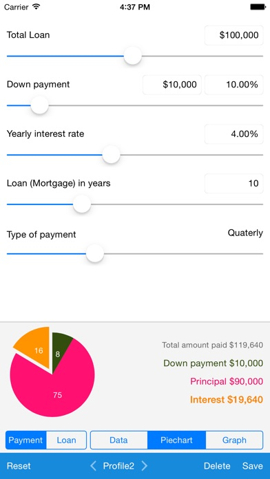 Screenshot #7 for Loan Calculator - Quick Estimate of Your Loan and Mortgage: Principal, Interest and Loan Balance