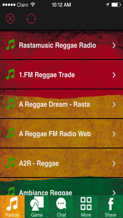 'A Reggae Music: The Best Reggae Songs and Roots with the most Popular Dancehall Radio Stations Online