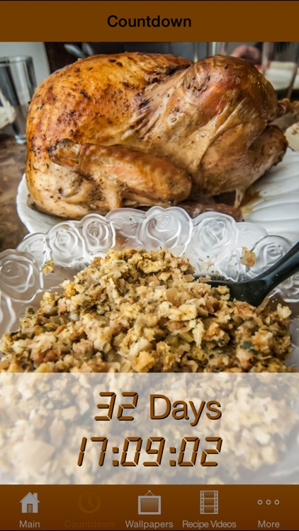 Thanksgiving All-In-One (Countdown, Wallpapers, Recipes)