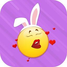FlirtyCon - Adult Emoji Emoticons Stickers Icons For