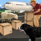 Sheep Run Dog Simulator 3D: Farm Lamb and Wool Transport through Transporter truck and Airplane icon