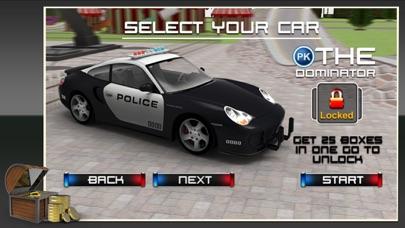 3D警察カーレーススタント - クレイジーシミュレーターに乗るとシミュレーションアドベンチャーのスクリーンショット3