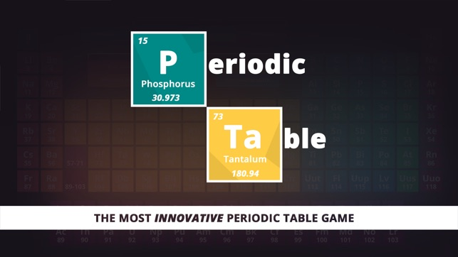 Periodic table game on the app store iphone ipad urtaz Gallery