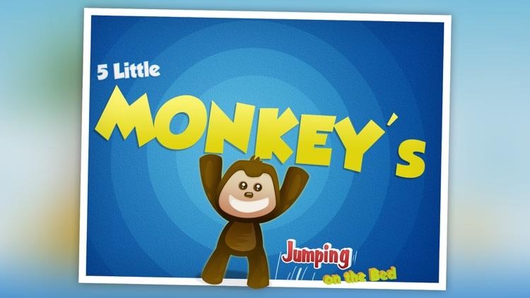 5 Little Monkeys Jumping On The Bed: TopIQ Story Book For Children in Preschool to Kindergarten HD