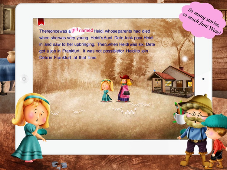Heidi for Children by Story Time for Kids