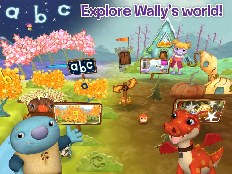 Wallykazam! Letter and Word Magic HD screenshot-0
