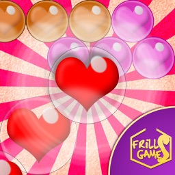 Bubble Shooter Love Valentine - A deluxe match 3 puzzle special for Valentine's day