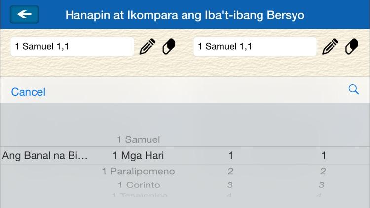 Ang Dating Biblia (Bible in Filipino - Tagalog) screenshot-3