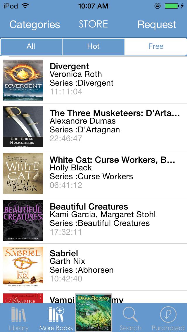 Audiobooks++ Screenshot