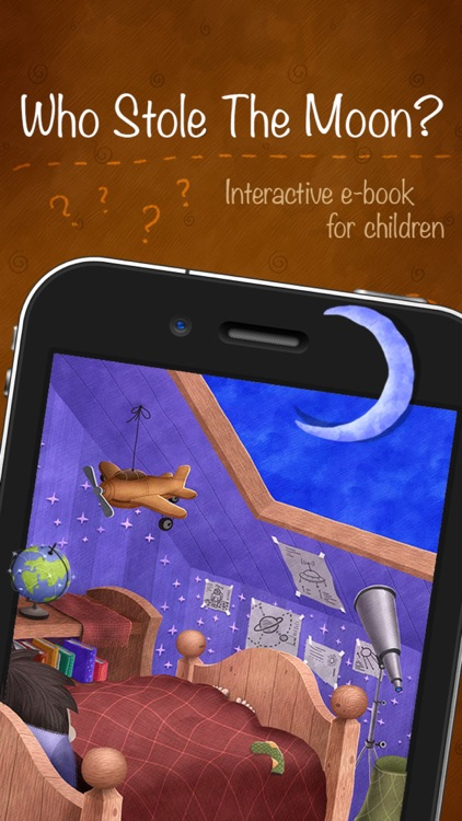 Who Stole The Moon? - Interactive e-book for children (iPhone version)