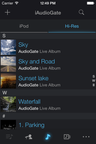 iAudioGate screenshot 2