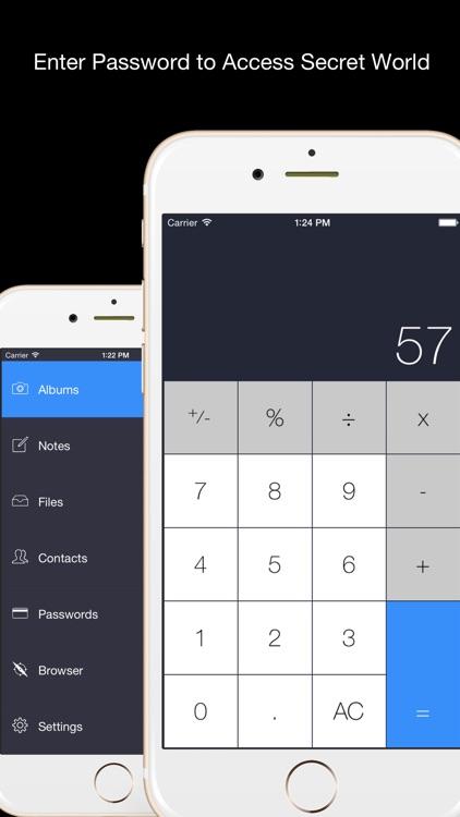 Secret Calculator Plus - File Hider and Private Photo Video Browser