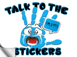 Talk to the Hand Stickers
