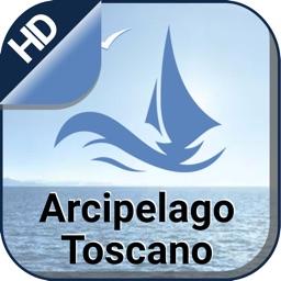 Archipelago Tuscan offline nautical fishing charts