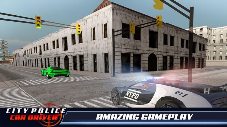 City Police Car Driver Simulator – Drive Cops Auto screenshot-4