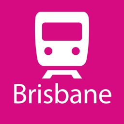 Brisbane Rail Map Lite