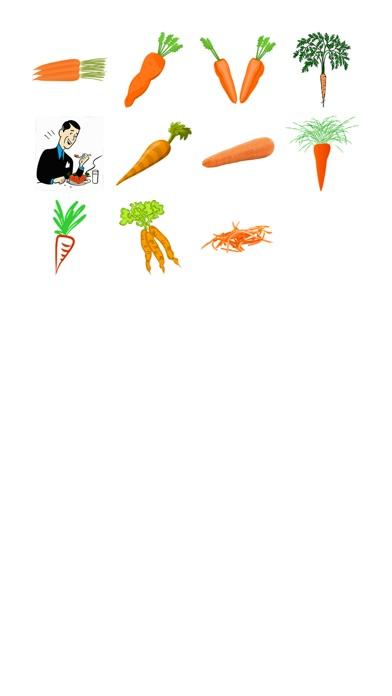 更多胡蘿蔔貼紙屏幕截圖1
