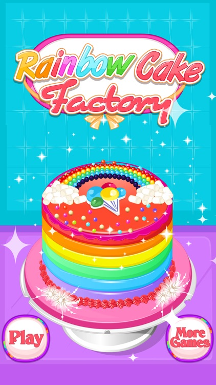 Rainbow Cake Factory - Cooking Game For Kids screenshot-4
