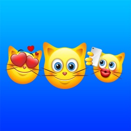 Cat Emoji - Cute Kitty Emoticon Stickers