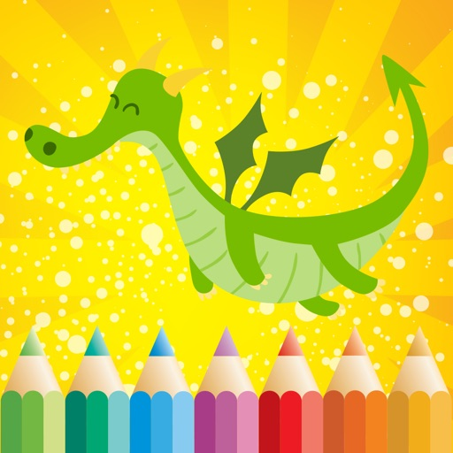 Fantasy Coloring Book for Children: Learn to color