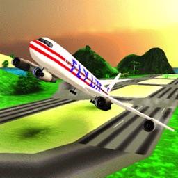 Flight Sim-ulator 3D: Fly Air-Plane 2