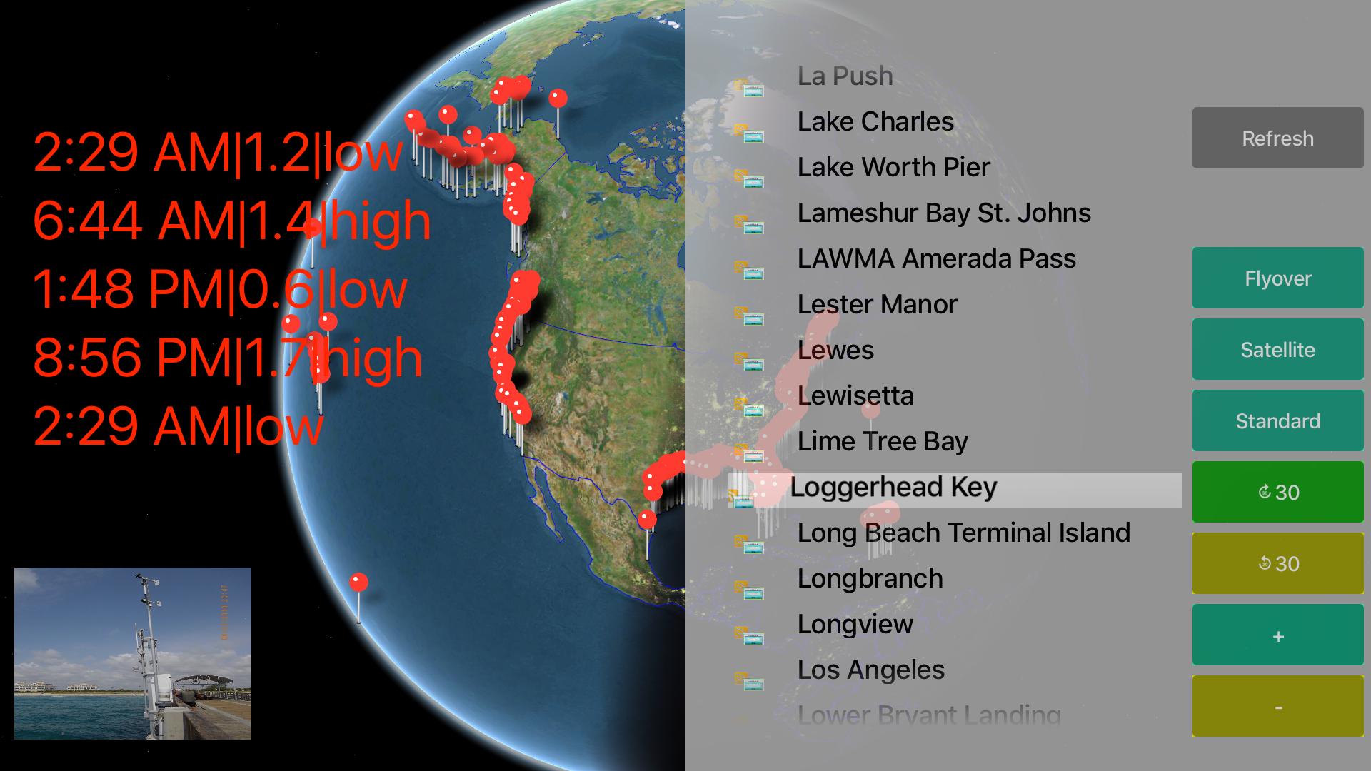 US NOAA Tide with NOAA Radar 3D Pro screenshot 14
