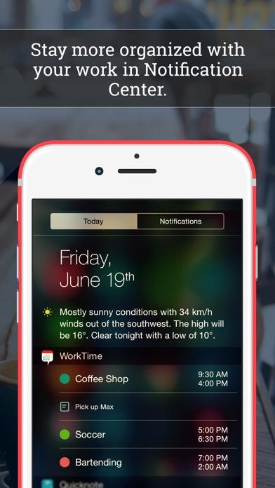 WorkTime: Arbeitszeit KalenderScreenshot von 4