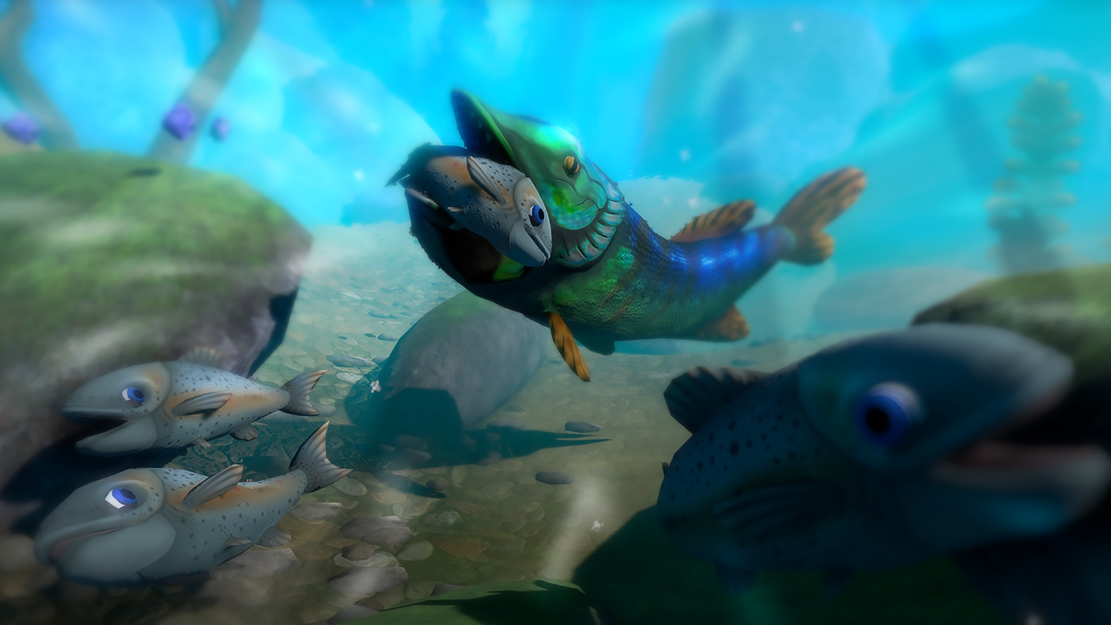 Pro fish simulator feed and grow battle by stefan jodies for Battle fish 2