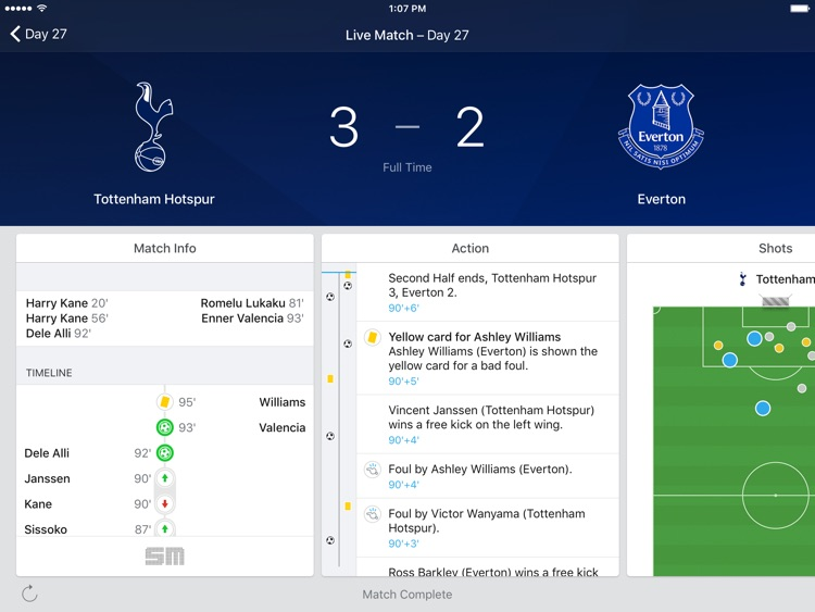 EPL Live for iPad