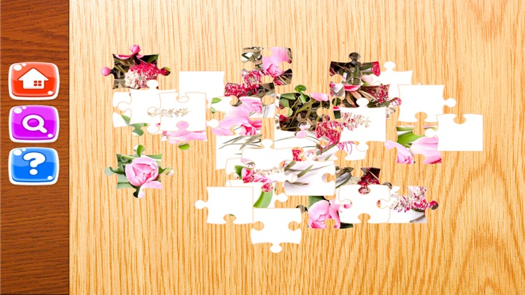 Flowers Jigsaw Puzzle For Kids 4 Year screenshot-4