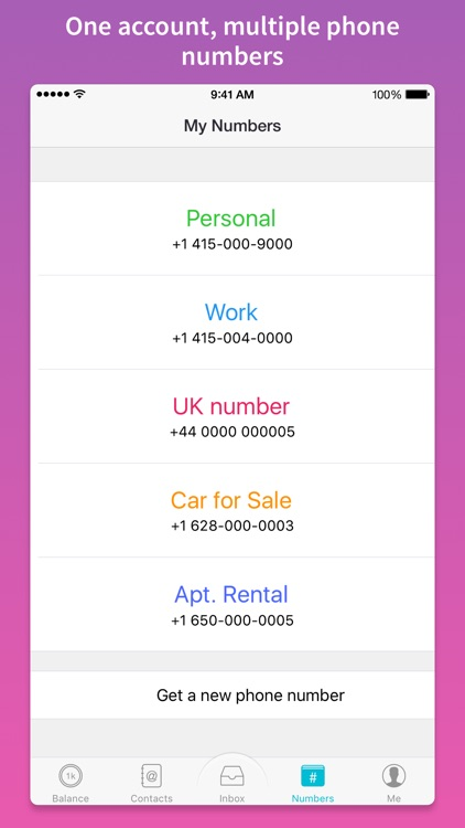 TextMe Up - Free Text, Call & Private Phone Number app image