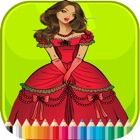 Princess Coloring Book - Activities for Kid icon