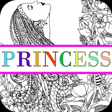 Activities of Princess Colorful - Coloring Book for Adults