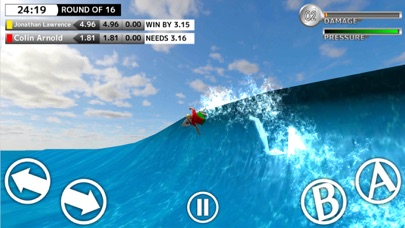 World Surf Tour - BCM Surfing Game Screenshot 2