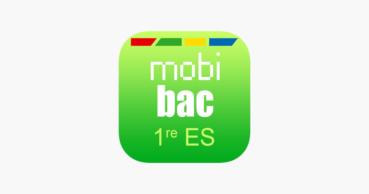 mobibac 1re es en app store. Black Bedroom Furniture Sets. Home Design Ideas
