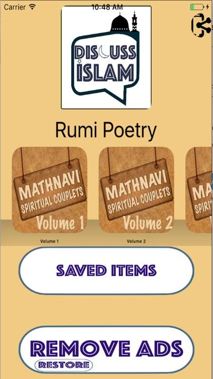 Rumi Poetry - Mathnavi (6 Volume Set) ( Mystic )