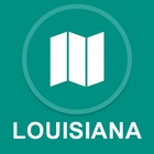 Луизиана, США : Offline GPS-навигации icon