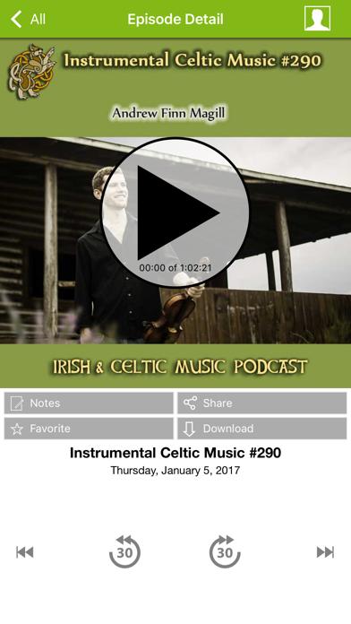 Irish & Celtic Music screenshot two