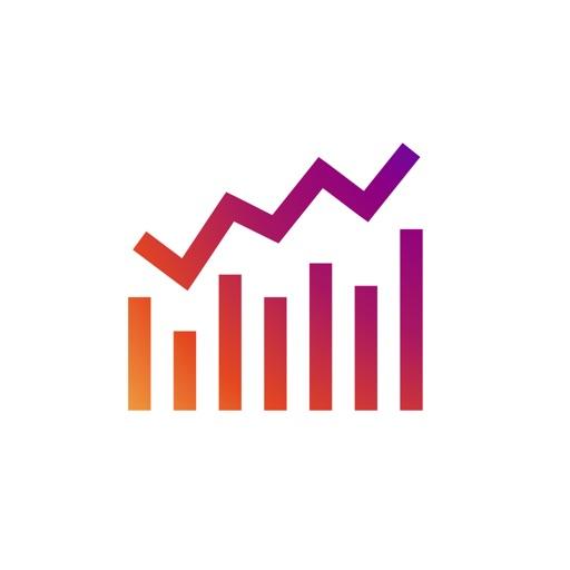 Command Analytics & Stats for Instagram app logo