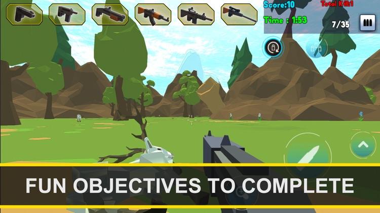 Wild Pixel Deer Sniper Hunting 2017 screenshot-4