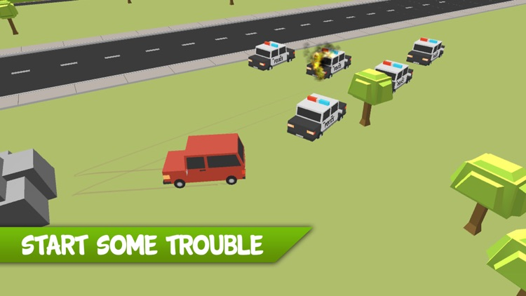 Police Offroad Escape Chase screenshot-0