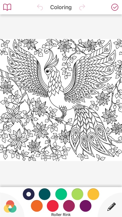 Nature Mandala Coloring Book Art Therapy For Adult Screenshot 1