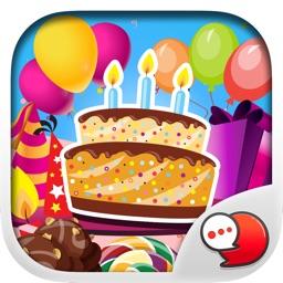 Happy Birthday Emoji Stickers for iMessage