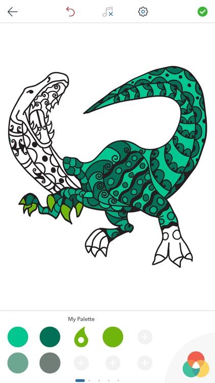Dinosaur Coloring Pages ! screenshot-4