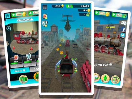 Поезд водитель симулятор Гонки: бесплатно ЖД гонка для iPad