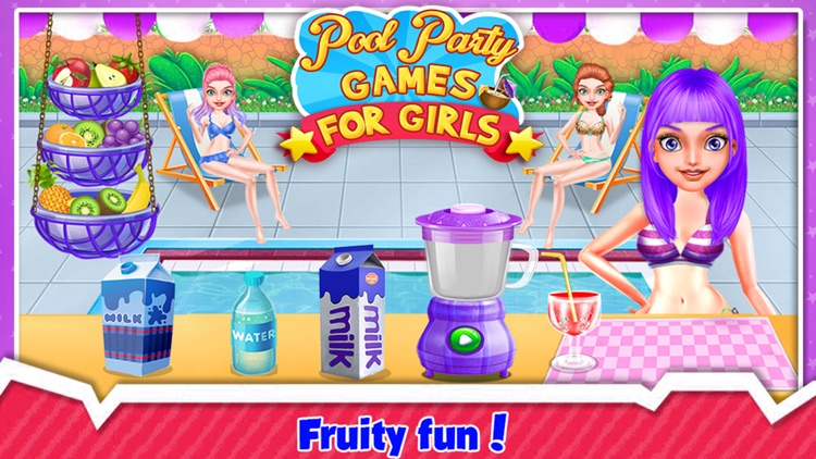 Pool Party Games For Girls