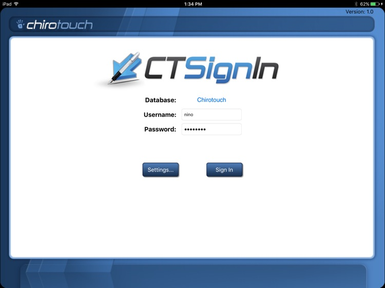 CT Sign-In Mobile 6.6