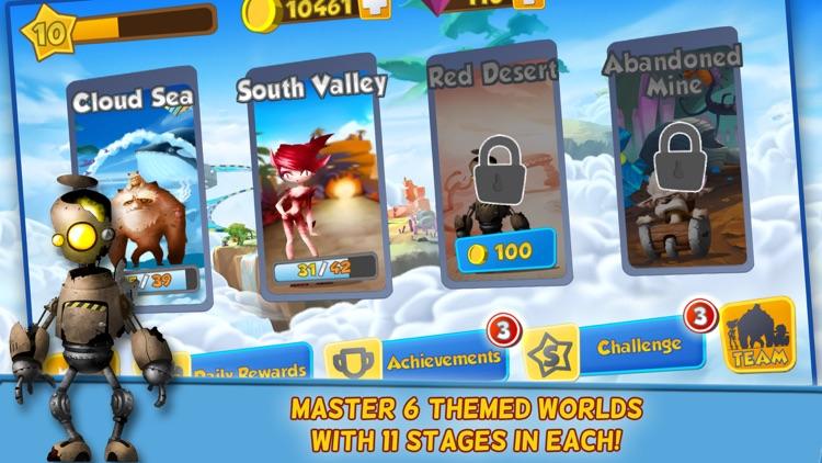 Monsters on the Run:  Smash and Go! screenshot-3
