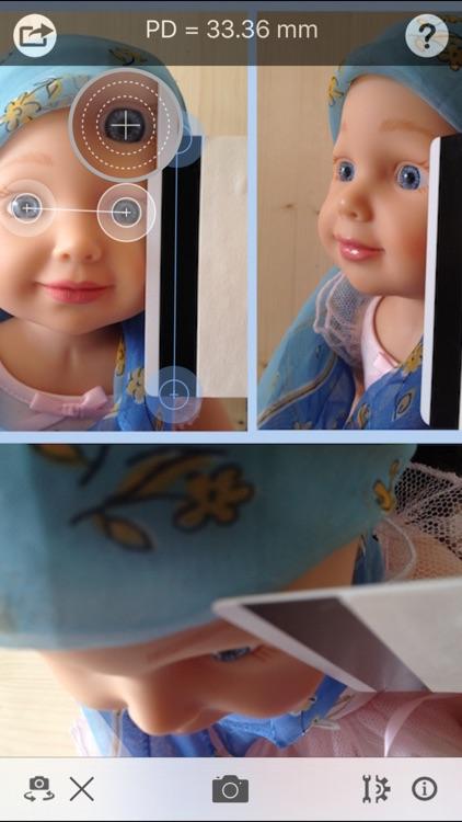 Pupil Distance Meter SE - simple PD photo measure