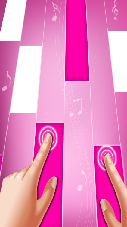 Pink Piano Tiles : Piano Games screenshot-1